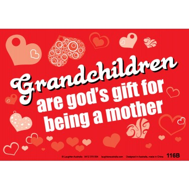 Fun Sign F116B - Grandchildren