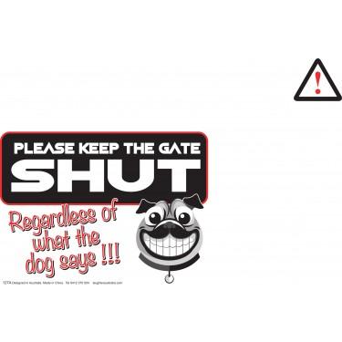 keep the gates shut