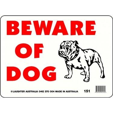Fun Sign 151 - Beware of Dog