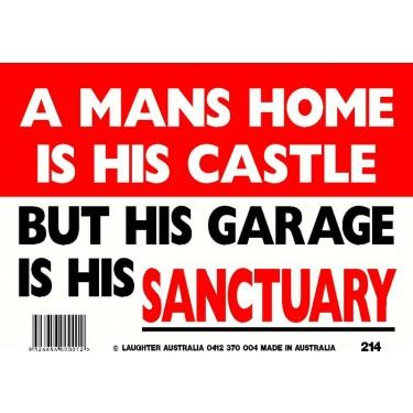 Fun Sign 214 - Sanctuary