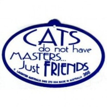 Hang Up 366 - Cats do not have masters