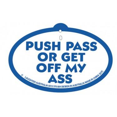 Hang Up 327c Push pass or get off my ass