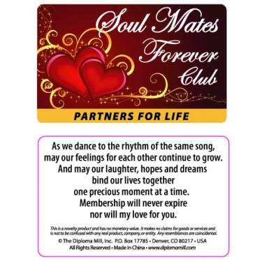 Pocket Card PC035 - Soul mates forever club