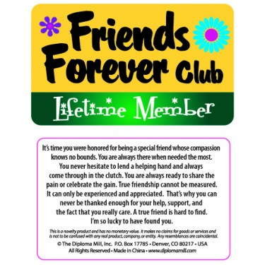 Pocket Card PC036 - Forever friends club