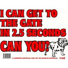 Fun Sign 113b - Can You