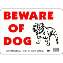 Fun Sign 151 - Beware of Dog