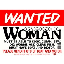 Fun Sign 183 - Good Woman