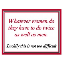 Fridge Magnet 737 - Whatever women do