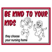 Fridge Magnet 738 - Be kind to your kids