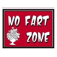 Fridge Magnet 744 -  No Fart Zone