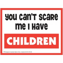 Fridge Magnet 770 - Can't scare me
