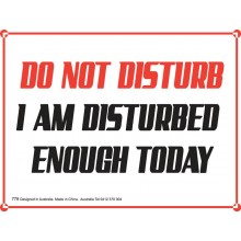 Fridge Magnet 779 - Do not disturb