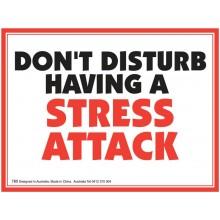 Fridge Magnet 780 - Having a stress attack