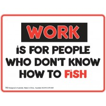 Fridge Magnet 783 - Work