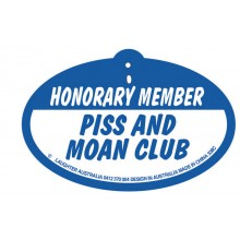 Hang Up 338c Honorary Member. Piss and moan club