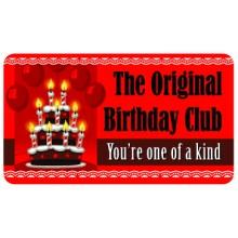 Pocket Card PC002 - The original birthday club