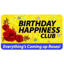 Pocket Card PC003 - Birthday happiness club
