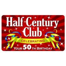 Pocket Card PC008 - Half century club