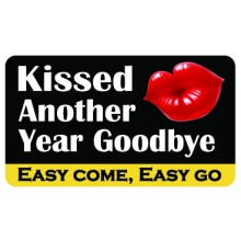 Pocket Card PC013 - Kissed another year goodbye