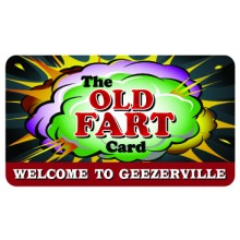 Pocket Card PC016 - The old fart club