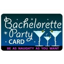 Pocket Card PC020 - Bachelorette party card