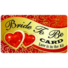 Pocket Card PC021 - Bride to be card