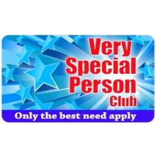 Pocket Card PC023 - Very Special Person Club