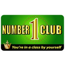 Pocket Card PC024 - Number One Club Card
