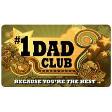 Pocket Card PC038 - #1 Dad club