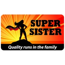 Pocket Card PC039 - Super sister