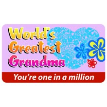 Pocket Card PC040 - Worlds greatest Grandma