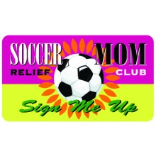 Pocket Card PC041 - Soccer Mum Relief club