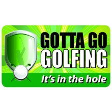 Pocket Card PC050 - Goota go golfing