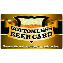 Pocket Card PC051 - Bottomless beer card