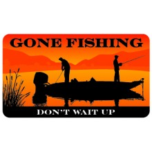 Pocket Card PC052 - Gone fishing