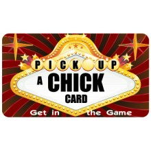 Pocket Card PC053 - Pick up a chick card