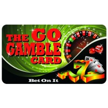 Pocket Card PC057 - The go gamble card