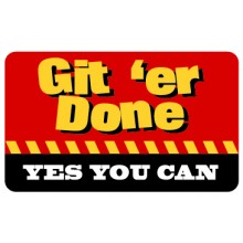 Pocket Card PC059 - Git er done