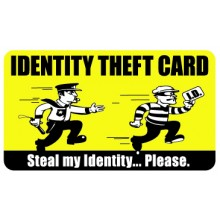 Pocket Card PC060 - Identity theft card