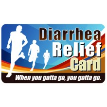 Pocket Card PC063 - Diarrhea relief card