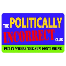 Pocket Card PC065 - The politically incorrect club