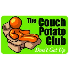 Pocket Card PC067 - The couch potato club