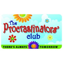 Pocket Card PC068 - The procrastinators club