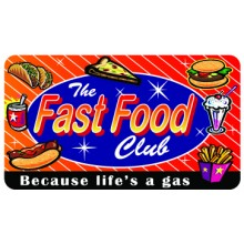 Pocket Card PC069 - The fast food club
