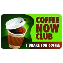 Pocket Card PC073 - Coffee now club