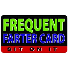 Pocket Card PC076 - Frequest farter card