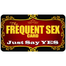 Pocket Card PC079 - The frequent sex card