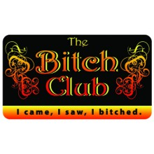 Pocket Card PC084 - The bitch club